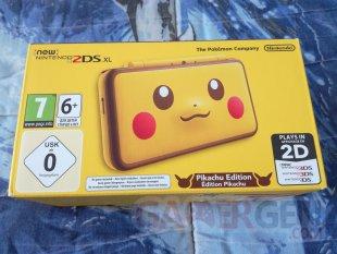 New Nintendo 2DS XL Pikachu Edition unboxing déballage 01 09 04 2018