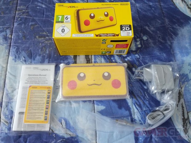 New Nintendo 2DS XL Pikachu Edition unboxing déballage 05 09 04 2018