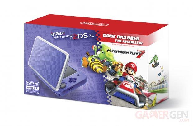 New Nintendo 2DS XL Purple