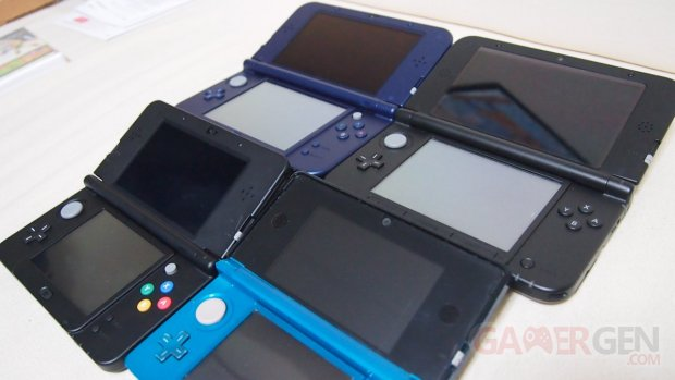 New Nintendo 3DS XL, 3DS, 3DS XL, NEW 3DS comparaison photo 11.10.2014  (5)