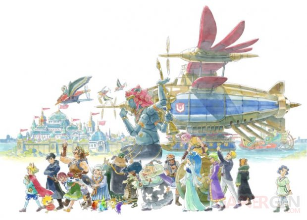 Ni no Kuni II Revenant Kingdom exposition Paris 12 03 2018