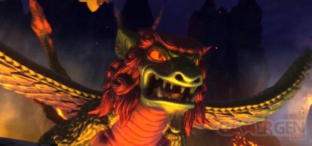 Ni no Kuni Longfang Boss Battle Gameplay