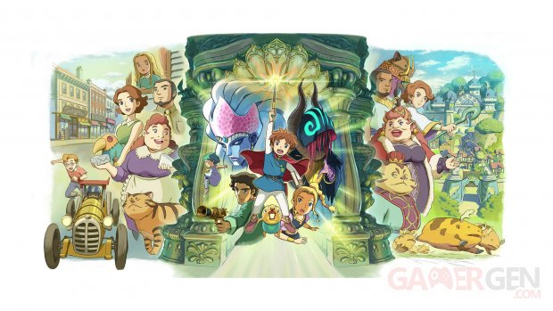 Ni no Kuni Wrath of the White Witch Remastered 05 08 06 2019
