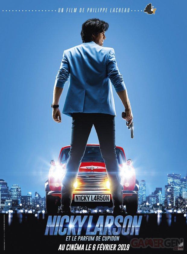Nicky Larson Affiche Poster Vive le cinéma français