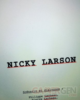 Nicky Larson image cinema