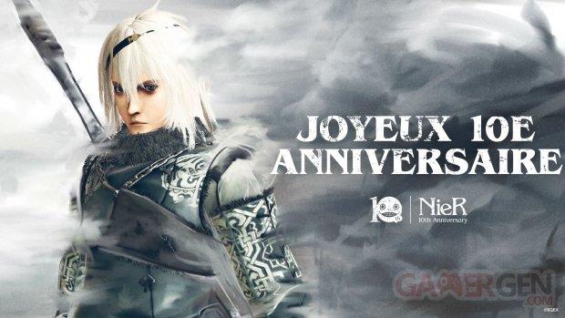 NieR artwork 10e anniversaire 22 04 2020