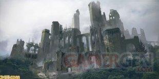 NieR Automata Forest Castle Famitsu 30 11 2016