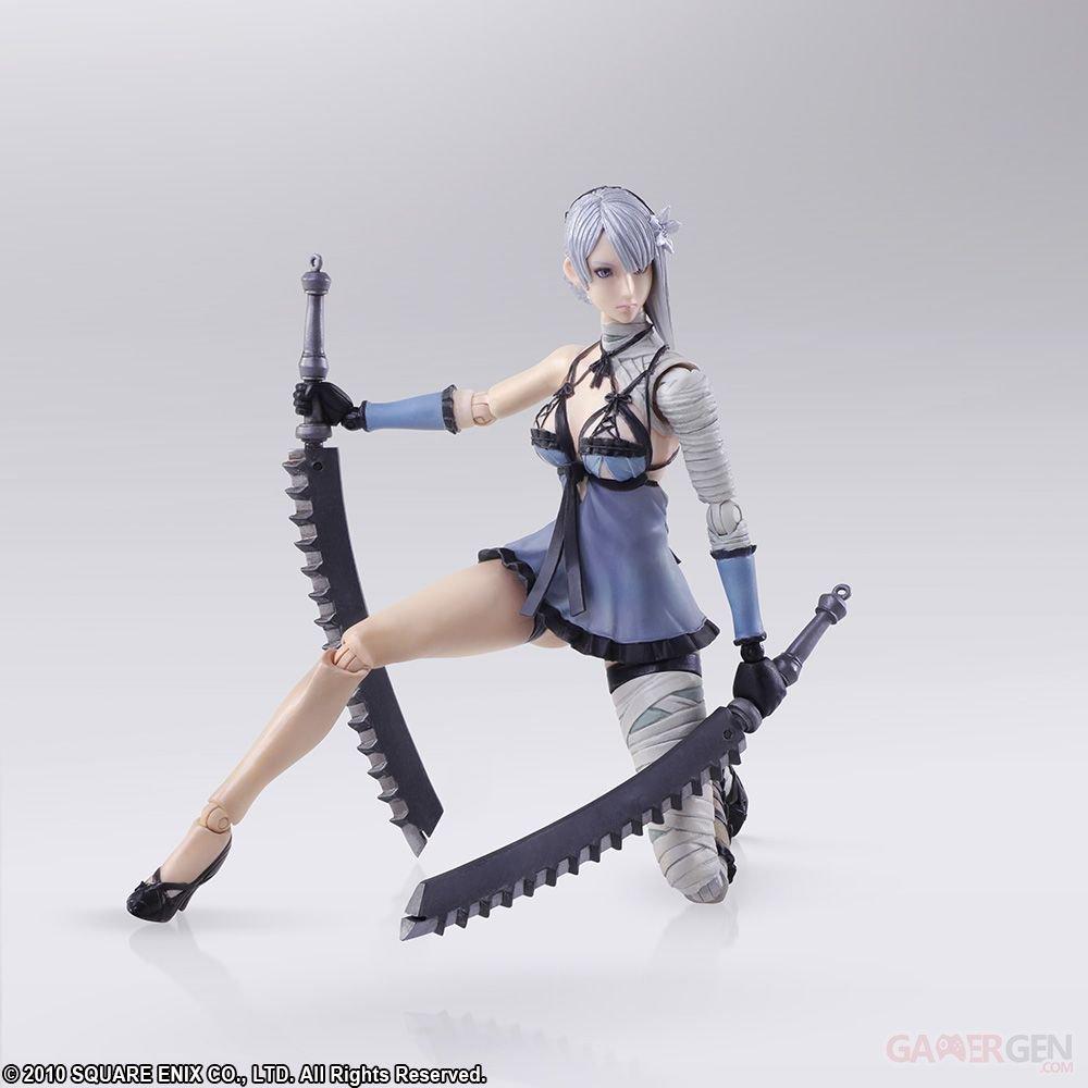 MAJ - GOODIES - Nier : une figurine très sexy de Kainé dans la gamme Bring Arts : Les images ...
