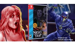 Night Trap 25 Anniversay Edition Switch Limited Run