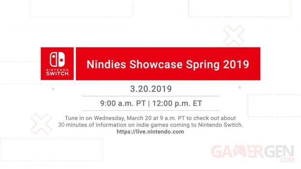 Nindies Showcase 18 03 2019