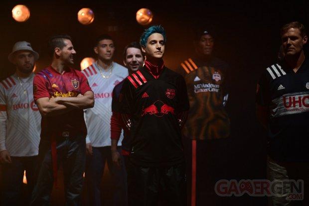 Ninja Fashion Week Red Bull Adidas MLS