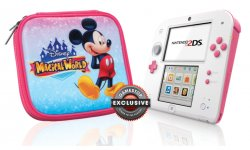 Nintendo 2DS rose Peach Pink