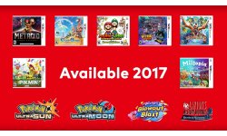 Nintendo 3DS line up image