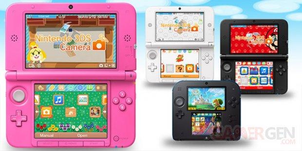 Nintendo 3DS menu personnalisable
