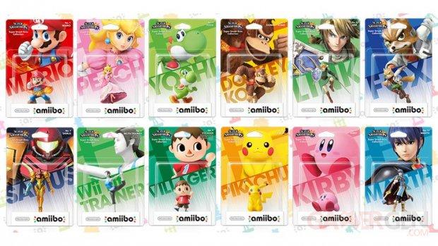 Nintendo amiibo première vague