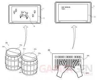 Nintendo brevets Donkey Konga bongo clavier 08 03 2018