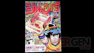 Nintendo Classic Mini Famicom Weekly Shonen Jump 50th Anniversary Edition NES Unboxing Deballages images (16)