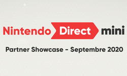 Nintendo Direct Mini Partner Showcase septembre 2020