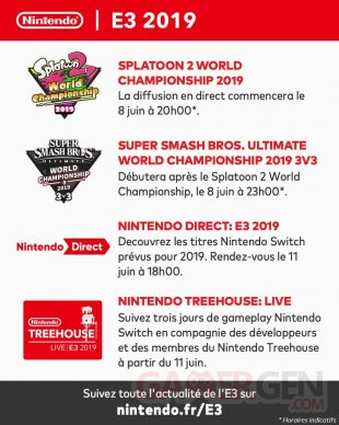 Nintendo E3 2019 Treehouse Live Direct
