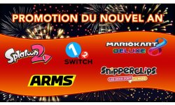 Nintendo eShop Promotions Nouvel An