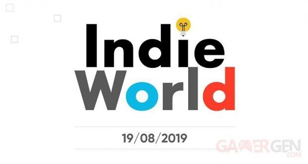 Nintendo Indie World 16 08 2019