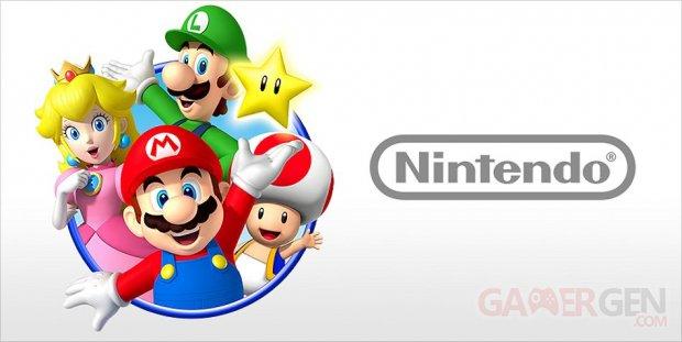 Nintendo logo vignette