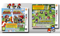 Nintendo Pocket Football Club Mario Donkey Kong boites