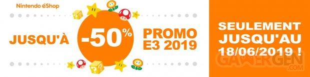 Nintendo Soldes eShop E3 2019