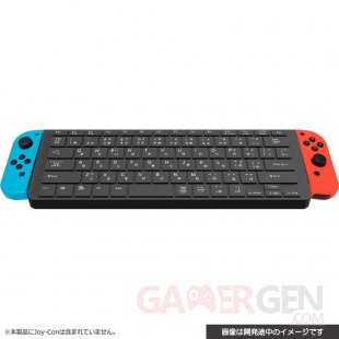 Nintendo Switch clavier Cyber Gadget Joy Con pic 1