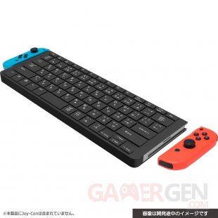 Nintendo Switch clavier Cyber Gadget Joy Con pic 2