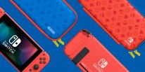 Nintendo Switch collector édition spéciale Mario rouge bleue hardware console 2