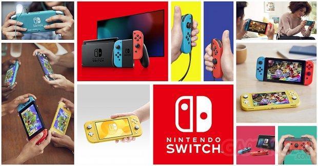 Nintendo Switch console image