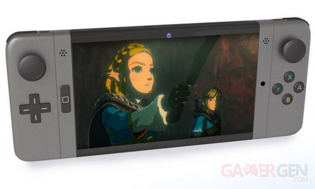 Nintendo Switch Console Pro 2 Zelda Breath of the Wild 2 image