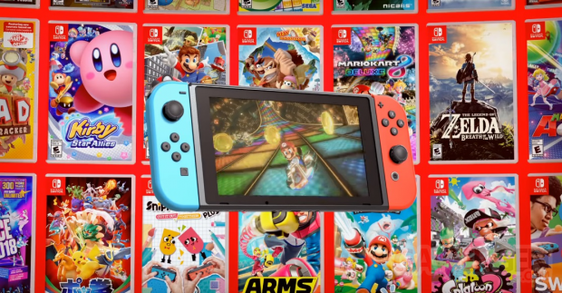 Nintendo Switch hardware lifestyle pic 11 games console