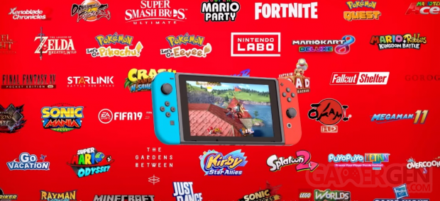 Nintendo Switch hardware lifestyle pic 12 games