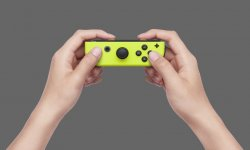 Nintendo Switch Joy Con Jaune images (6)