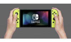 Nintendo Switch Joy Con Jaune images console
