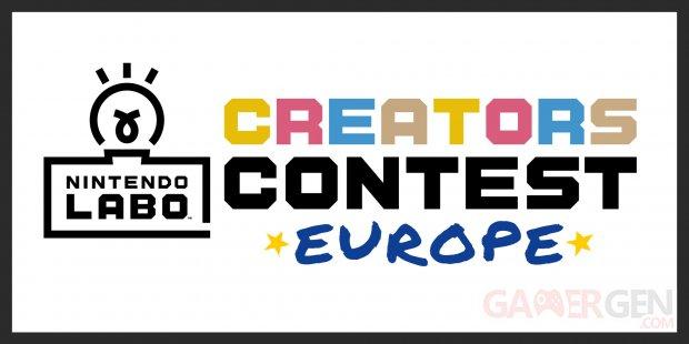 Nintendo Switch labo contest creators europe