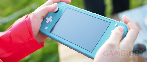 Nintendo Switch Lite hardware 10