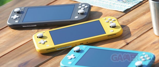 Nintendo Switch Lite hardware 7