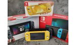 nintendo switch lite photos comparaison modele original