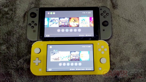 Nintendo Switch Lite Photos maison Comparaison 0012