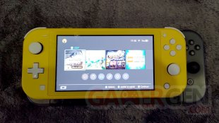 Nintendo Switch Lite Photos maison Comparaison 0013