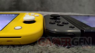 Nintendo Switch Lite Photos maison Comparaison 0022