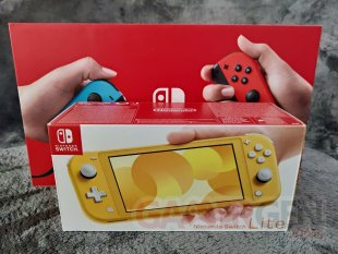 Nintendo Switch Lite Photos maison Comparaison 0050