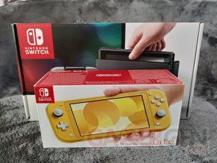 Nintendo Switch Lite Photos maison Comparaison 0051