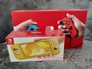 Nintendo Switch Lite Photos maison Comparaison 0054