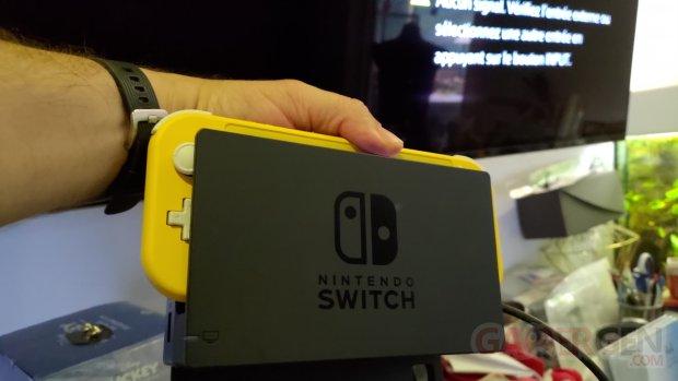 Nintendo Switch Lite Photos maison Dock 0001
