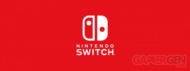 Nintendo Switch logo head banner
