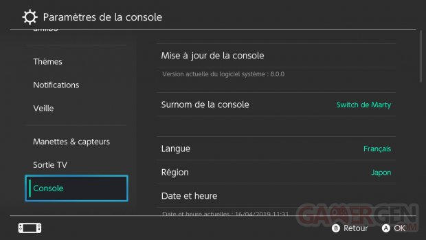 Nintendo Switch MAJ 8.0.0 Option ZOOM tuto images (10)